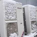 空调冬季制热结霜